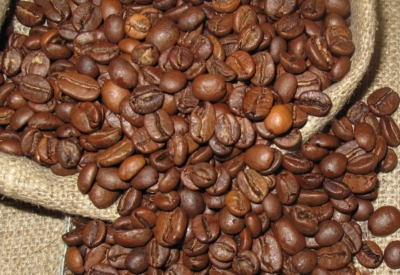 Kaffeebohnen für die Kaffeemaschine