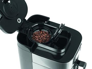 Barista 09925 Kaffeeautomat mit integriertem Mahlwerk | 1050 Watt | Edelstahl | Kaffeemaschine | Kaffeebereiter | Café -