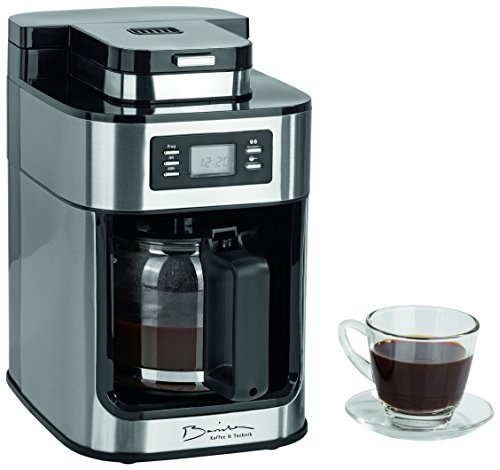 barista 09925 kaffeeautomat mit integriertem mahlwerk test filterkaffe. Black Bedroom Furniture Sets. Home Design Ideas