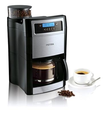 Petra Electric KM 90.07 Kaffeeautomat Mahlen und Aufbrühen -