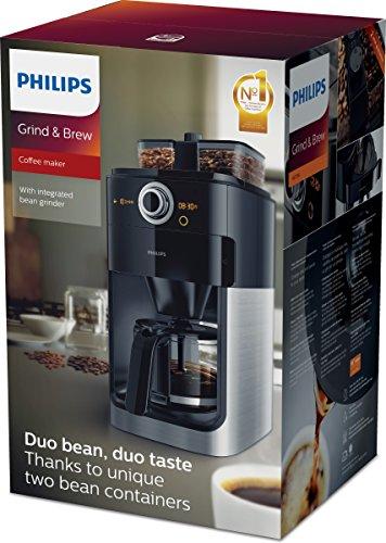 test philips hd7766 00 grind brew kaffeemaschine mit mahlwerk. Black Bedroom Furniture Sets. Home Design Ideas