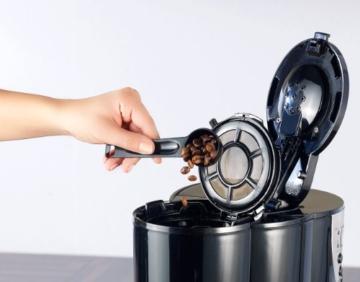 Rosenstein & Söhne Kaffeemaschine KF-615 mit Mahlwerk und Timer -