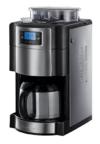 Russell Hobbs Buckingham 21430-56 Grind und Brew Digitale Thermo-Kaffeemaschine mit integriertem Mahlwerk silber / schwarz -
