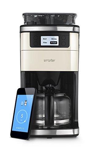 Smarter SMC10EU Coffee - Wifi Kaffeemaschine mit Mahlwerk und mit EU-Stecker -
